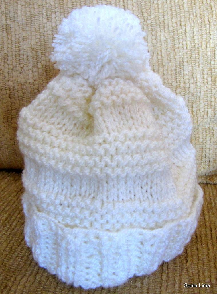 2017fb25597a0 Touca Neve (Sonia Lima - Tricô e Crochê) Tags  handmade crochet artesanato  clothes
