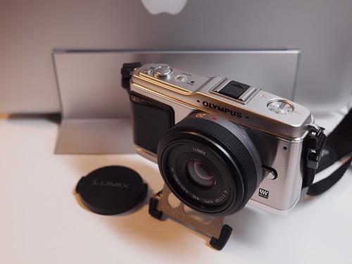 OLYMPUS E-P1 + LUMIX G 20mm F1.7 ASPH.