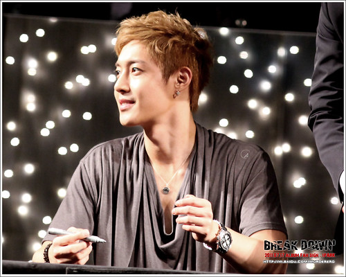 Kim Hyun Joong Fan Signing Event at iPark in Seoul  14
