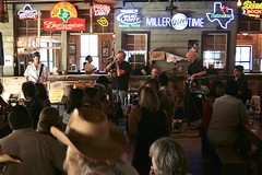 Performing at the legendary Gruene Hall by Dan Holmes Group
