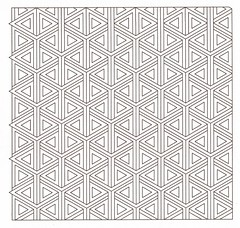 Etcher Double Diamonds (Marguerite1997) Tags: composition symmetry balance zentanglepattern