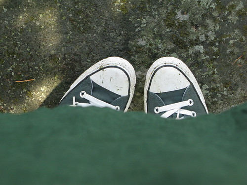 My new green shoes