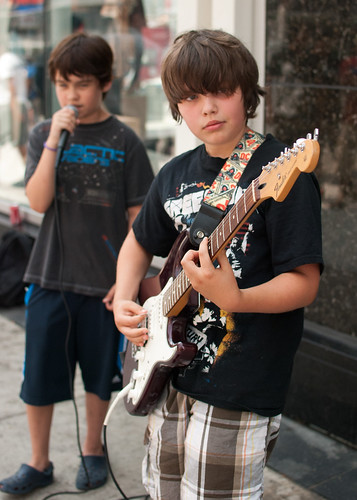 Boy buskers - #191/365 by PJMixer