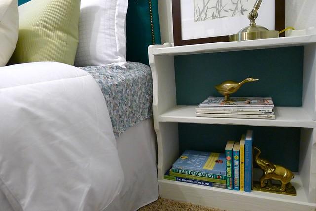 Bookshelf painted