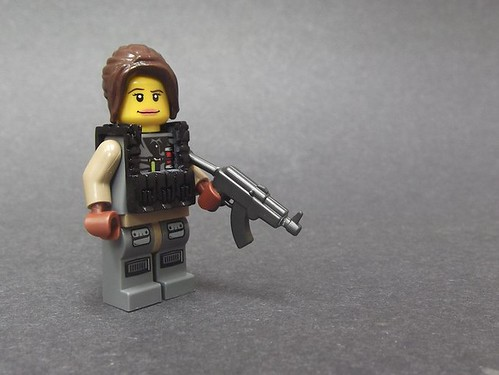 Custom minifig Better Watch Your Back!