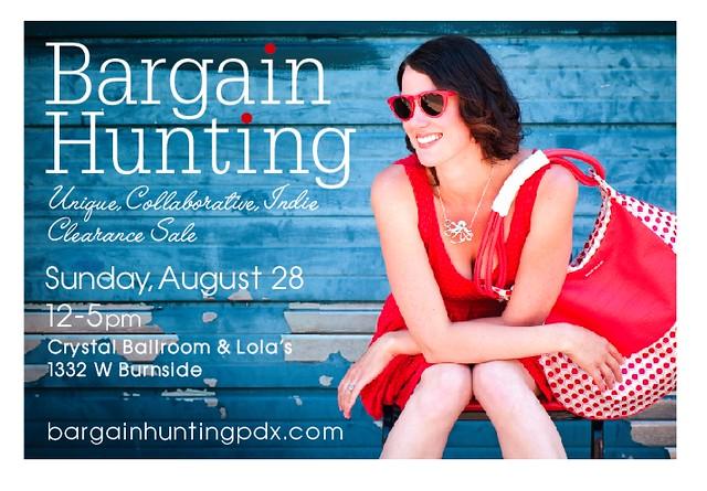 Bargain Hunting @ Crystal Ballroom