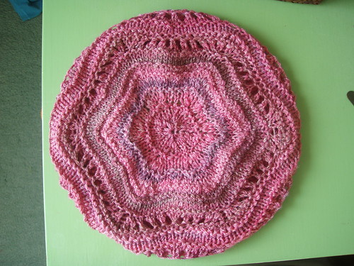 Handspun Hat - Blocked