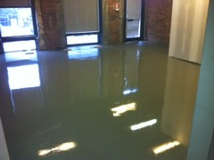 After ARDEX self leveling