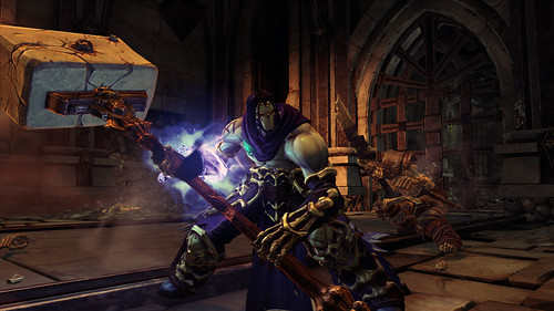 Darksiders 2 and The Hammer of Death in Action