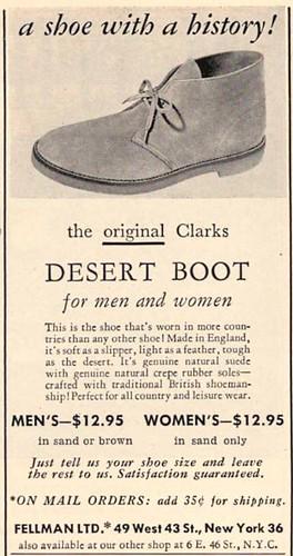 -Clarks desert boots
