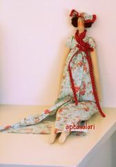 Tilda Tica (AP.CAVALARI / ANA PAULA) Tags: doll boneca tilda cavalari bonecadetecido apcavalari fabicdoll
