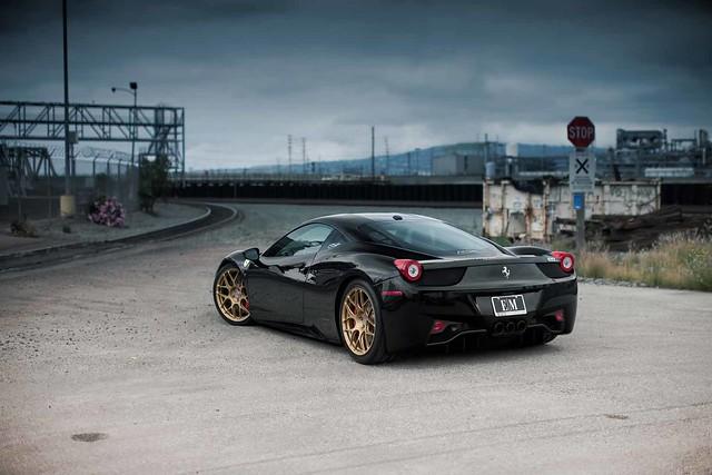 Ferrari 458 Italia: Black On Gold - BMW 3-Series and 4