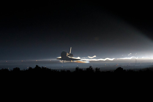 Atlantis lands for the final time