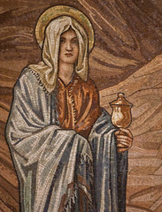 St Mary Magdalene mosaic (Lawrence OP) Tags: rome church saint stpauls episcopal marymagdalene burnejones