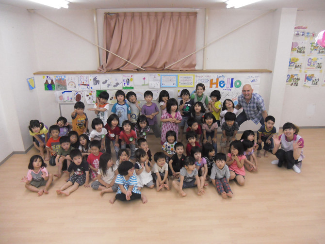 message to Tohoku kinder kids3