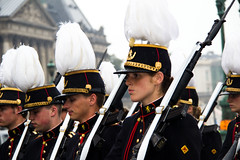 Belgique - 21 juillet 2011 - Ecole Royale Militaire (saigneurdeguerre) Tags: school brussels soldier army europa europe belgium belgique military royal belgi bruxelles armada ponte belgian academy brssel brussel