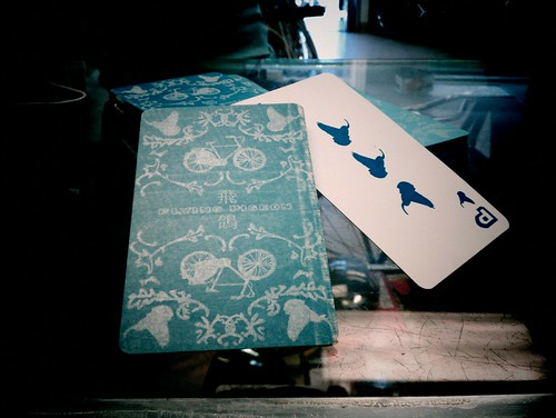 Flying Pigeon spoke cards