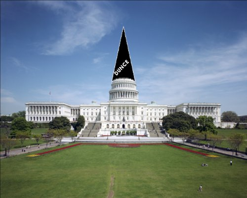 Congress Earns Its Dunce Cap
