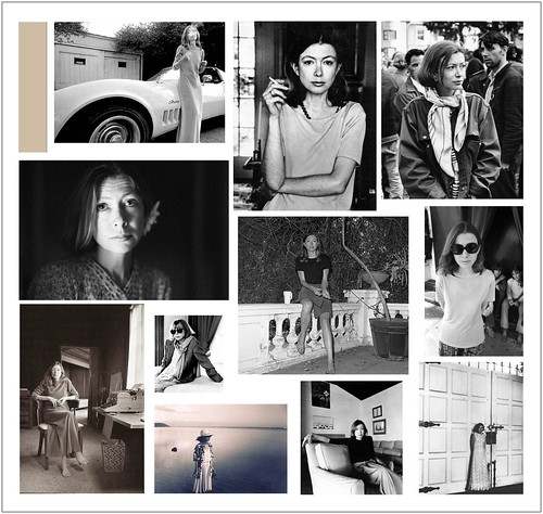 joan didion collage