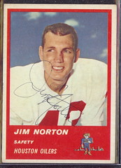1963 Fleer - 40 - Jim Norton