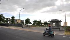 台體的嘉義朴子校區佔地10頃,空曠校園只有3百多名師生。圖片:陳 香蘭/攝。