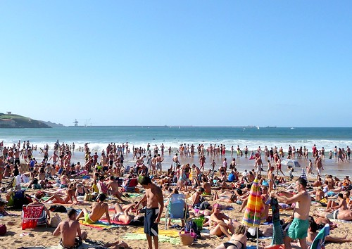 unas de playa