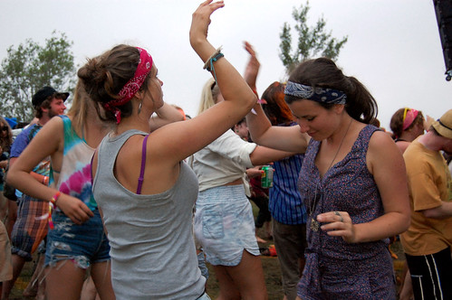 Dancing - Evolve Festival 2011