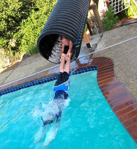 home brew water slide