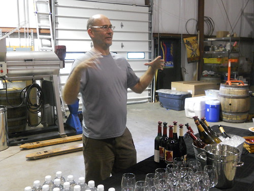 Tim Gorman of Cardinal Point Winery