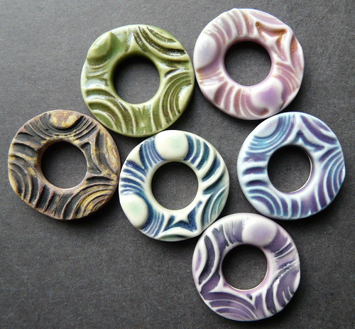 Porcelain Jewelry Components