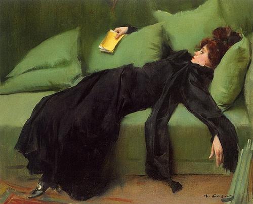 Ramón Casas, Jove Decadent, 1910