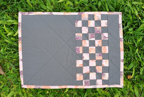 checkerboard placemat