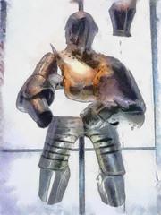 Suits you Sir (Steve Taylor (Photography)) Tags: uk england london art vintage display suit londres gb armour toweroflondon dap stevetaylor aop steventaylor dynamicautopainter funkycoloredpencils