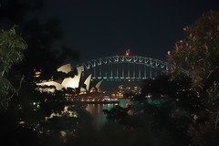 Sydney Opera House & Bridge. (dicktay2000) Tags: bridge night opera sydney australia nsw g11 ©richardtaylor 20110717img2784