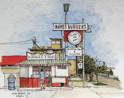 Dave's Burgers- Long Beach, CA
