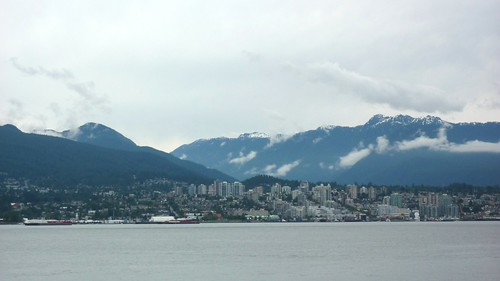 North Vancouver, seen from Vancouver Harbour