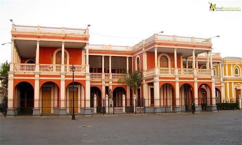 Granada Nicaragua Central Park Architecture