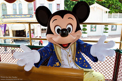 HKDL July 2011 - Joining Mickey and friends as the Grand Marshals of the Parade!