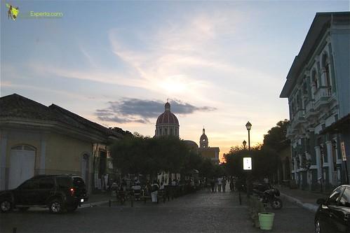 Granada Nicaragua Sunset