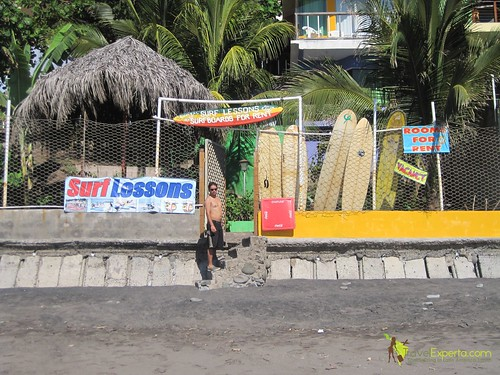 Playa Tunco El Salvador Surf Lessons