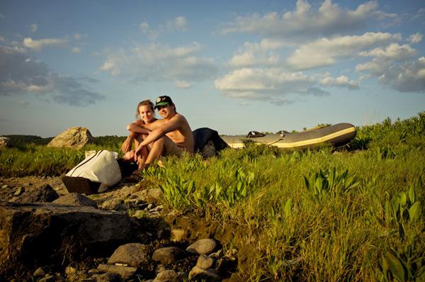 Ciera and Zander Camping