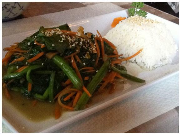Bamboo Garden vegetables - Geneva Foodie