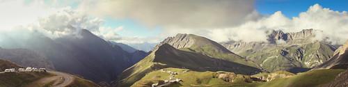 Col Du Galibier Panorama 1