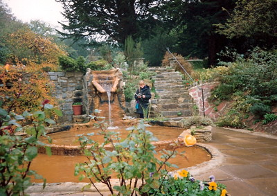 Chalice Well gardens in 1990