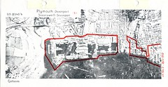 Devonport Map (Photo) 7 (Plymouth History) Tags: cornwall map aircraft nazi plymouth aerial devon photograph german target bomb blitz bombing reich devonport secondworldwar stonehouse luftwaffe plymstock saltash torpoint