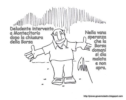 La Borsa Malata by Livio Bonino