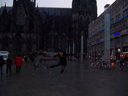 Koln, Germany - Jumping Shot