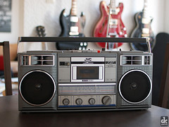 Boombox (dkshots) Tags: music radio vintage box cash 80s sound speaker boombox recorder eighties cassette ghettoblaster cartridge kassettenrekorder