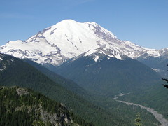 Rainier from Crystal Peak trail.