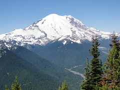 Rainier from Crystal Peak.